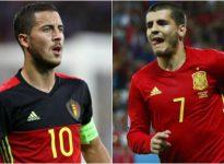Amistoso Internacional: Bélgica - España