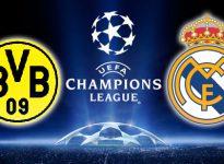 Champions League: Borussia Dortmund - Real Madrid