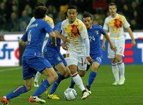 Clasificación Mundial 2018: Italia - España