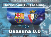18:00 BarcelonaB - Osasuna