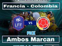 20:45 Francia - Colombia