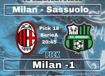 Serie A : AC MILAN - SASSUOLO