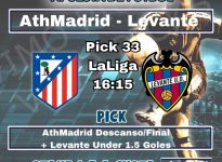 Ath Madrid - Levante