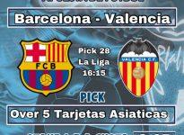 Laliga : Barcelona - Valencia