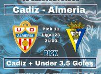 Liga123: Cadiz - Almeria