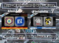 Aue - Karlsruher +  Vps - Kups