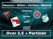 Amistoso + Copa Serbia