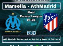 FINAL : MARSELLA - ATH MADRID