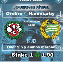 Orebro –  Hammarby