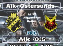 AIK - OSTERSUNDS FK