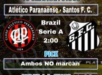 ATLETICO PARANAENSE - SANTOS FC