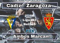 Cadiz - Zaragoza