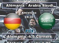 Alemania - Arabia Saudi