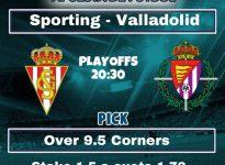 Sporting de Gijón - Real Valladolid.