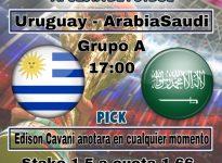 Copa del Mundo: Uruguay - Arabia