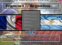 CopadelMundo: Francia - Argentina