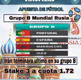 Mundial RUSIA 2018 Grupo B