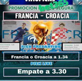 Segura: Francia – Croacia