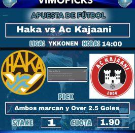 Haka vs Ac Kajaani