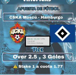 CSKA Moscú vs HamburgoEl