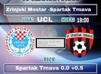 Zrinjski Mostar -Spartak Trnava