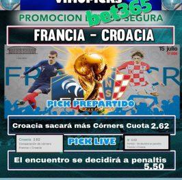 Live Francia- Croacia