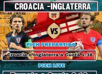 LIVE CROACIA - INGLATERRA