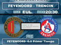 FEYENOORD - TRENCIN