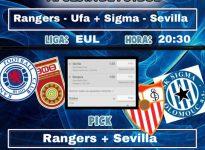 Rangers - Ufa + Sigma - Sevilla