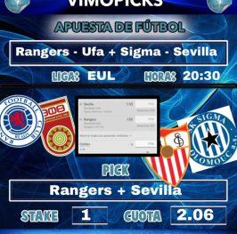 Rangers – Ufa + Sigma – Sevilla