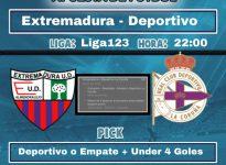 Extremadura - Deportivo