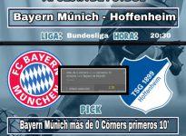 Bayern Múnich  - Hoffenheim