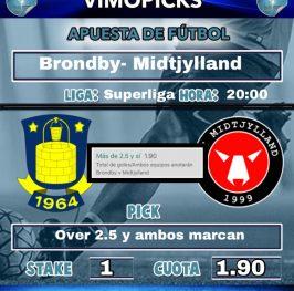 Brondby- Midtjylland