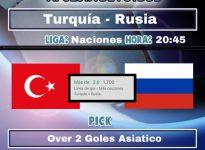 UEFA Naciones : Turquía - Rusia