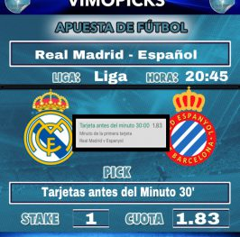 R. MADRID – ESPANYOL