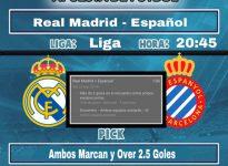 Liga Real Madrid - Espanyol