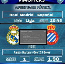Liga Real Madrid – Espanyol