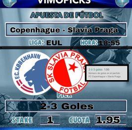 Copenhague – Slavia Praga