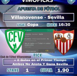 Villanovense – Sevilla