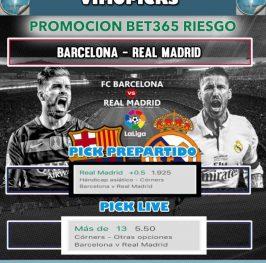 Barcelona – Real Madrid   Riesgo