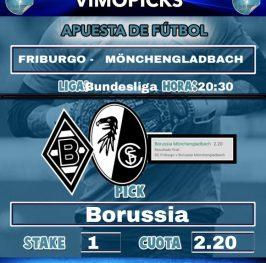 Friburgo -Borussia Moenchengladbach