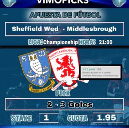 Sheffield Wed  – Middlesbrough