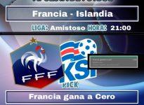 Francia - Islandia