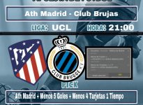 Ath Madrid - Club Brujas