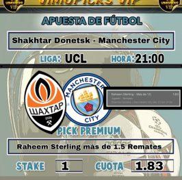 Shakhtar Donetsk – Manchester City