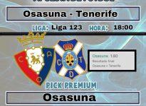 Osasuna- Tenerife