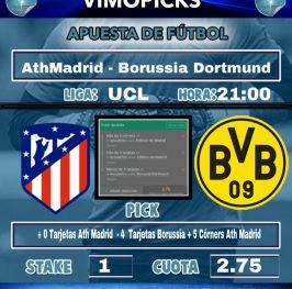 AthMadrid – Borussia Dortmund