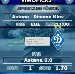Astana – Dínamo Kiev