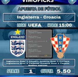Inglaterra – Croacia