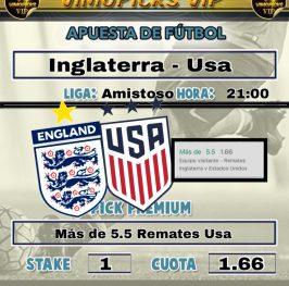 Inglaterra – Usa